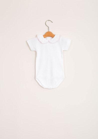 Body bebè femmina di cotone