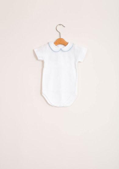 Body bebè maschio di cotone