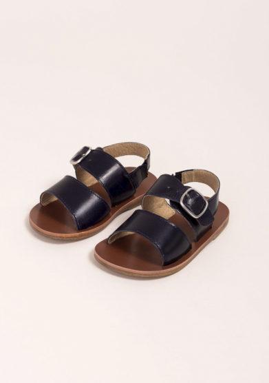 Sandali fratino in pelle