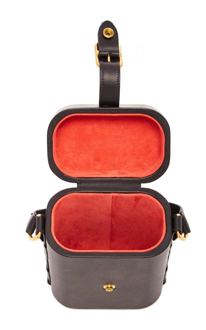 Tote bag in vacchetta leather