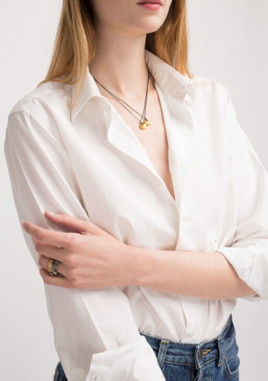 Anello a fascia in bronzo