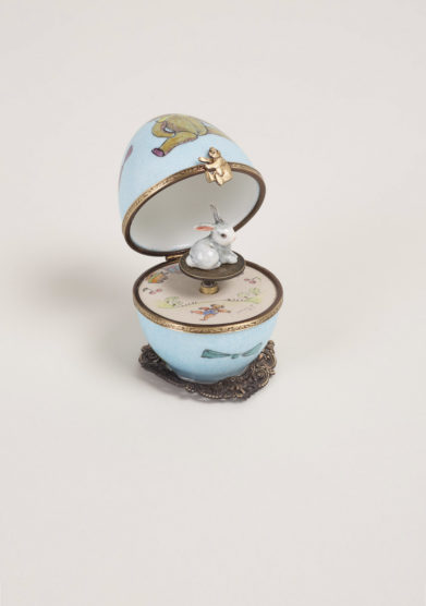 Carillon in porcellana limoges bambino