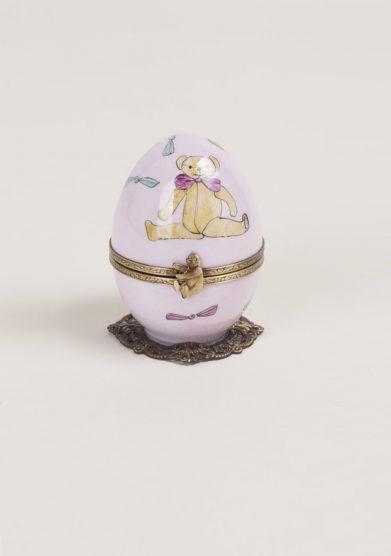Carillon in porcellana limoges bambina