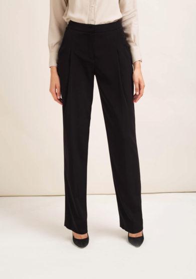 Pantaloni in cady nero