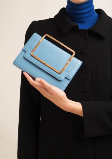 Clutch in nappa celeste