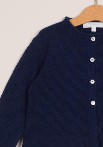 M. FERRARI - Cardigan bambina in lana