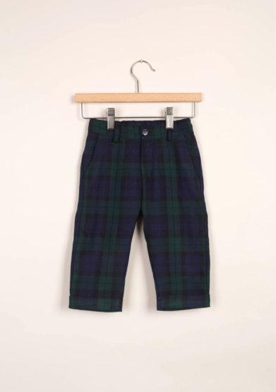 M. FERRARI - Pantaloni bambino a quadri