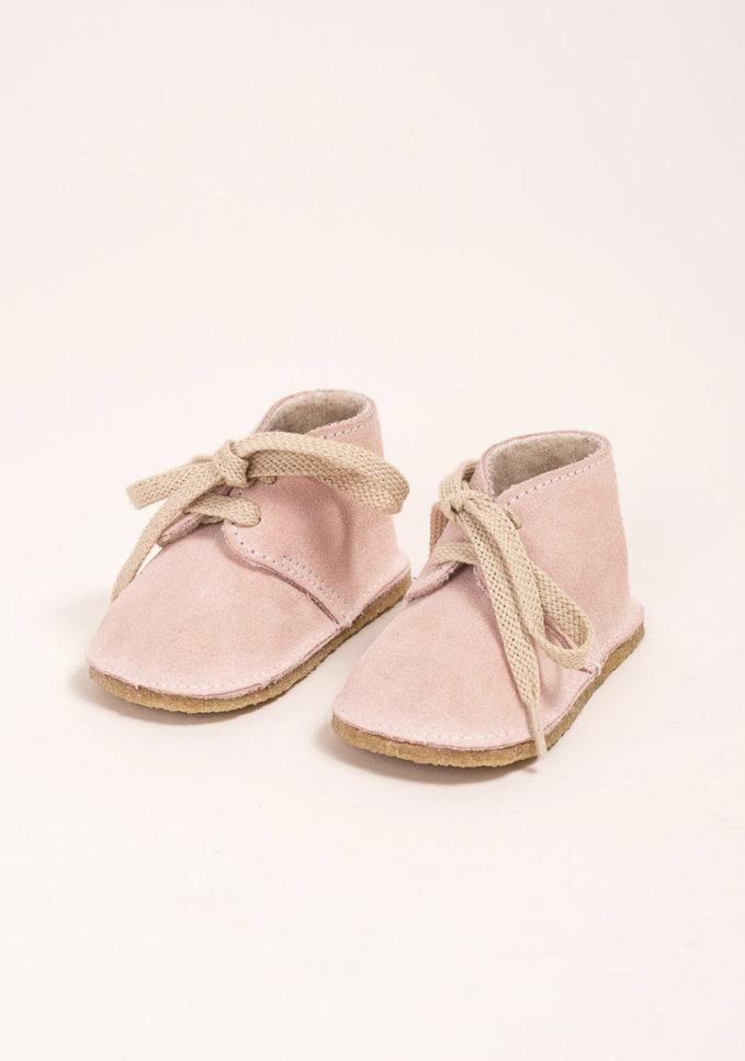 EUREKA - Clarks in camoscio rosa