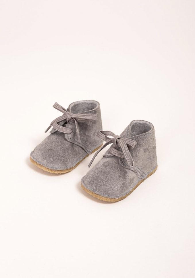 EUREKA - Clarks in camoscio grigio
