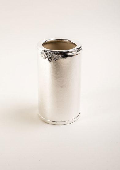 ARG. CORRADINI - Glacette in trilaminato d'argento con decorazione