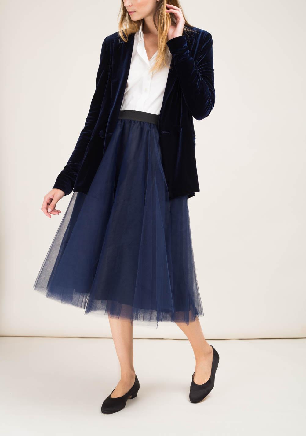 finest selection 25438 650b3 MATTA E GOLDONI - Midi ballerina skirt in tulle - The ...