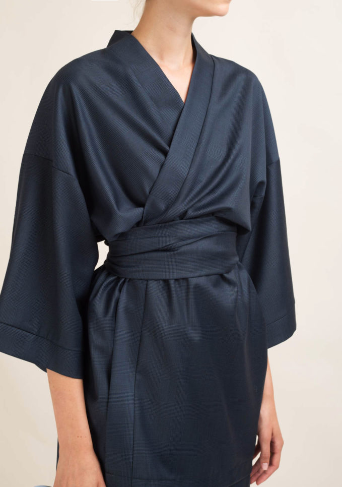 MATTA E GOLDONII - Tailleur sartoriale in lana a quadri