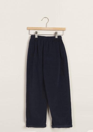M. FERRARI - Joggers in cotone blu