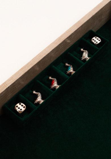 ARG. CORRADINI - Gioco dell'oca in confezione di lusso