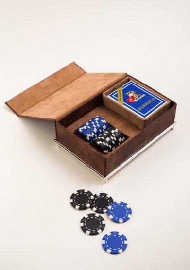 ARG. CORRADINI - Set da gioco Poker in confezione di lusso
