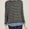 Alyki - Striped cashmere sweater