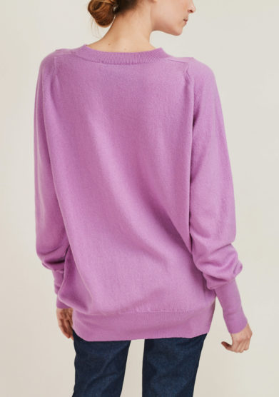 ALYKI - Ultra soft cashmere crewneck sweater