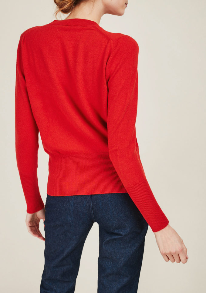 ALYKI - Ultra soft cashmere crewneck sweater