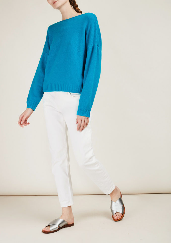 ALYKI - Silk and cashmere-blend sweater