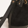 AMIRA BAGS - Suede and leather bucket bag