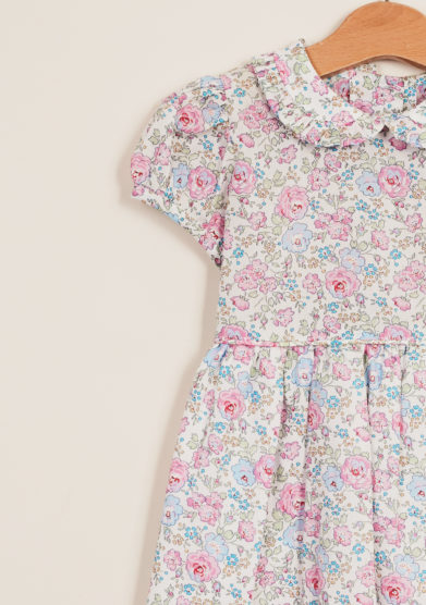 BARONI - Abito bambina a fiori liberty