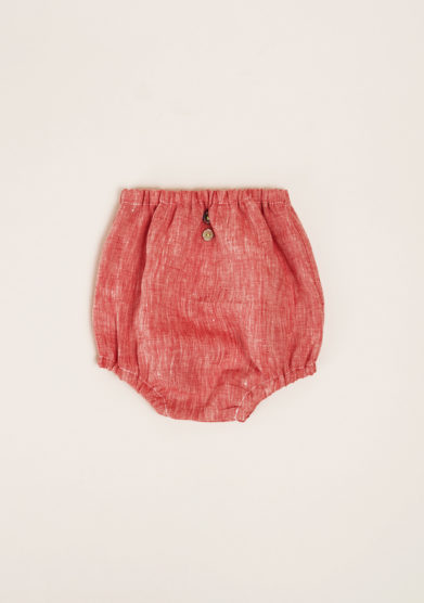 DEPETIT - Red linen bloomers
