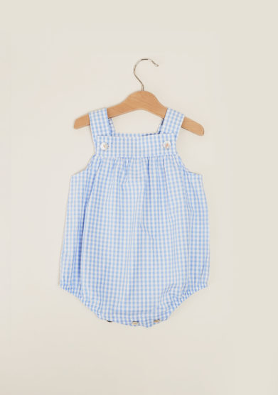 DEPETIT - Boy's gingham jumpsuit