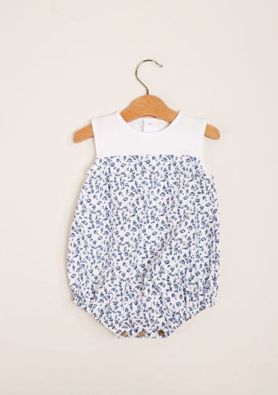 DEPETIT - Cotton Liberty print romper