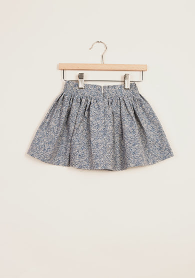 I MARMOTTINI - Girl's cotton pleated skirt