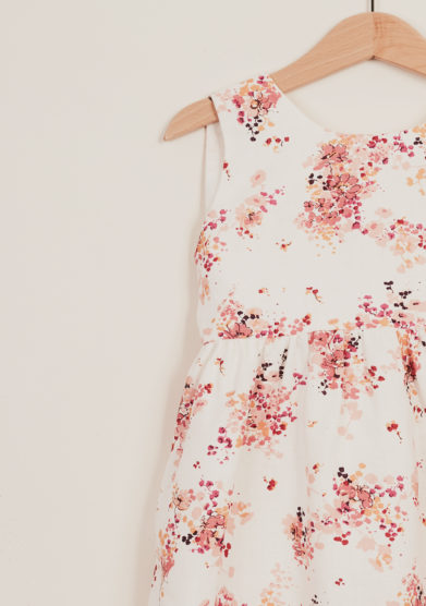 I MARMOTTINI - Girl's floral-print cotton dress