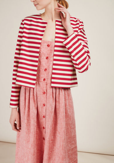 CARLOTTA CANEPA - Striped jacket