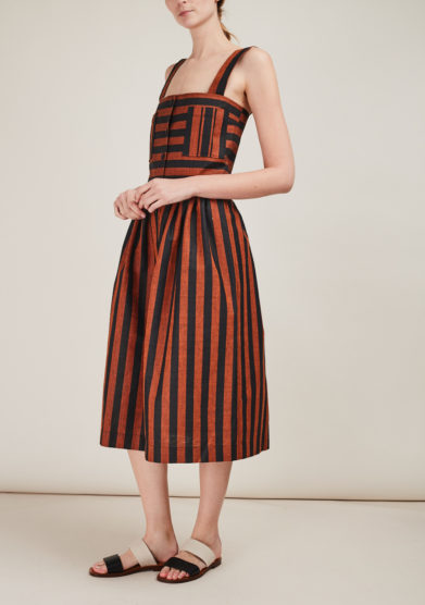 CO. PA OFFICIAL - Striped midi dress