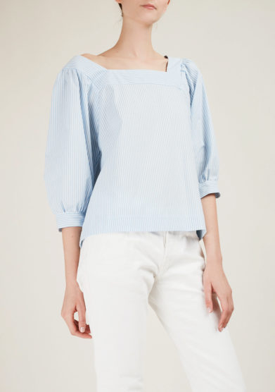 MADUNINE - Striped cotton top