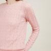 ALYKI - Pullover girocollo in seta e cashmere