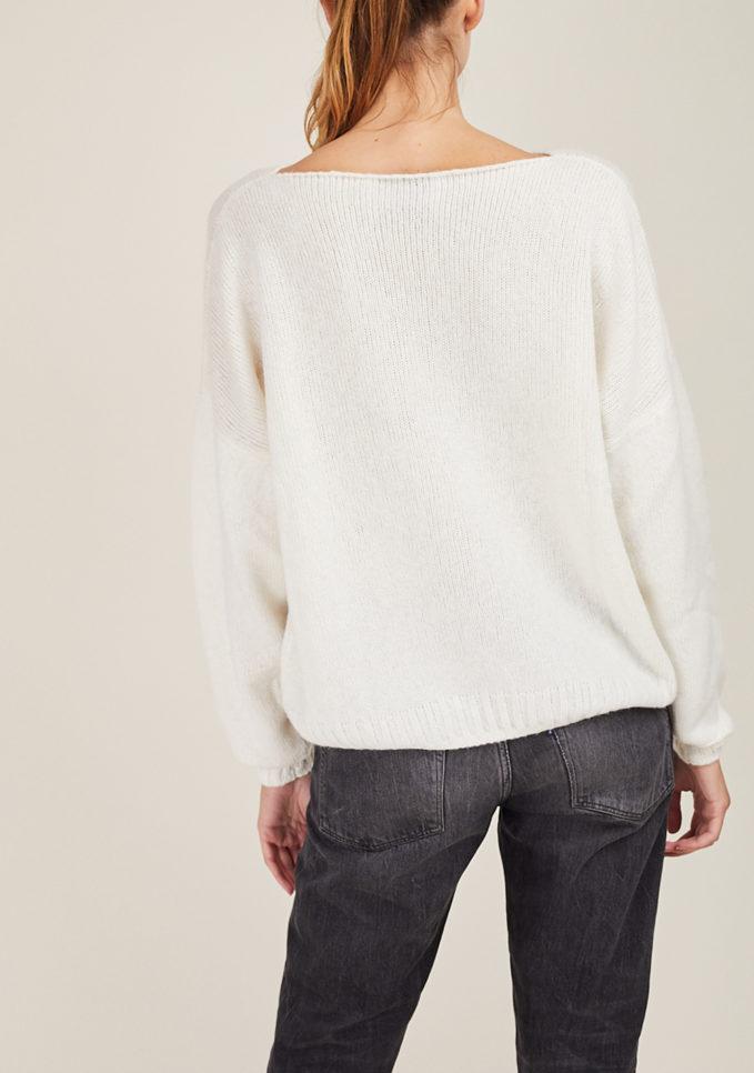 ALYKI - Silk and cashmere-blend sweater