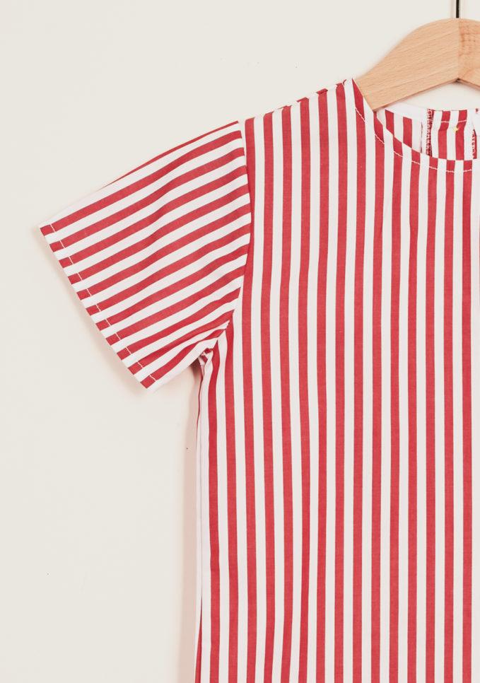 DEPETIT - Girl's cotton blouse