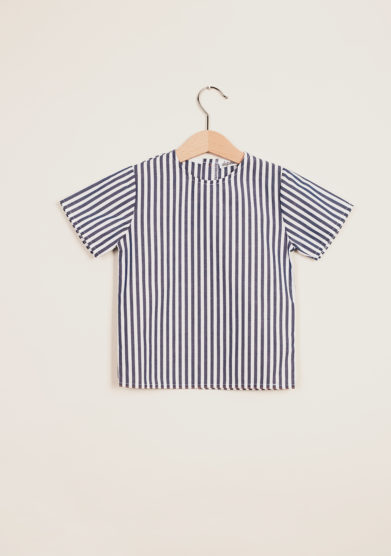 DEPETIT - Baby cotton striped blouse