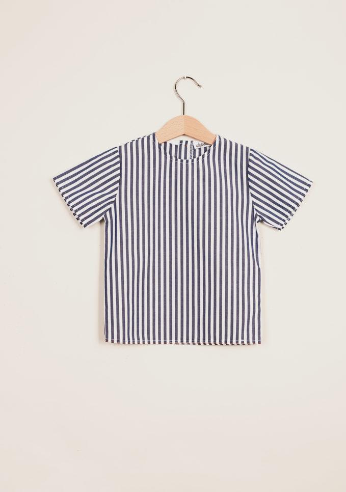 DEPETIT - Baby cotton striped blouse