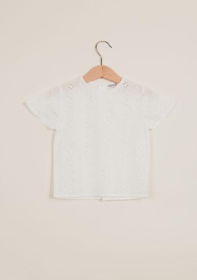 DEPETIT - Girl's linen blouse