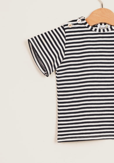DEPETIT - Baby cotton striped t-shirt