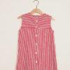 DEPETIT - Girl's striped cotton dress