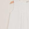 DEPETIT - White cotton dress
