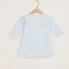 DEPETIT - Baby light blue linen blouse