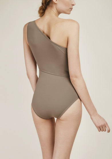 SOLOBLU - Hazel one-shoulder swimsuit