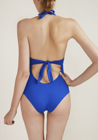 SOLOBLU - Blue swimsuit