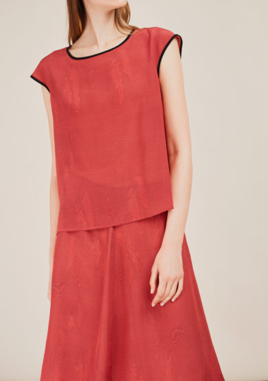 SANFELICE CASHMERE - Silk printed top