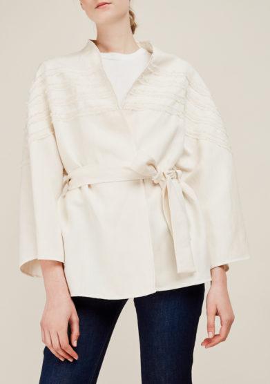 ATELIER. C - Linen belted cardigan