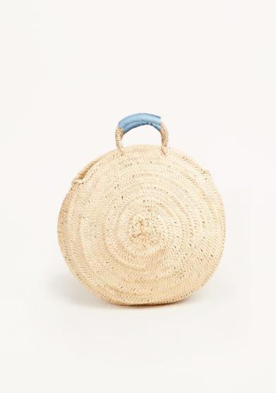 RUE DES FLEURS - Wicker handbag