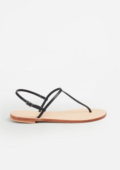 MARIO D'ISCHIA - Leather sandals