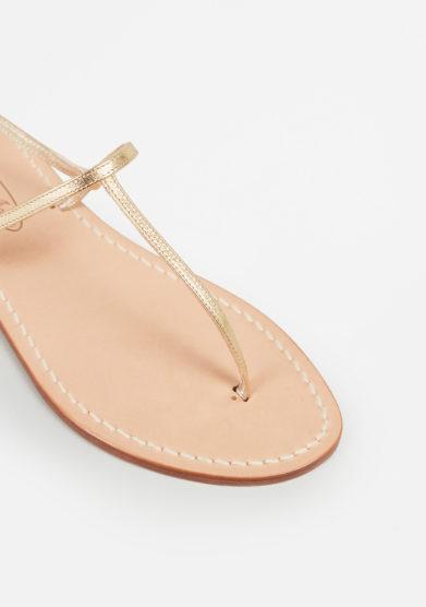 MARIO D'ISCHIA - Leather sandals